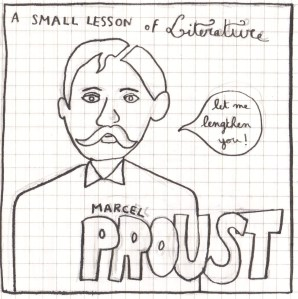 a small lesson - proust