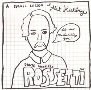 a small lesson - rossetti