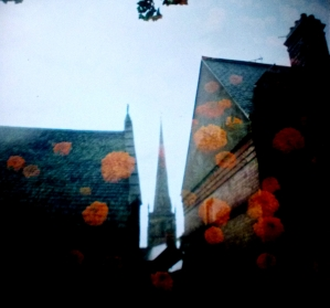 Church and Flowers #1