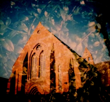 Church and Leaves