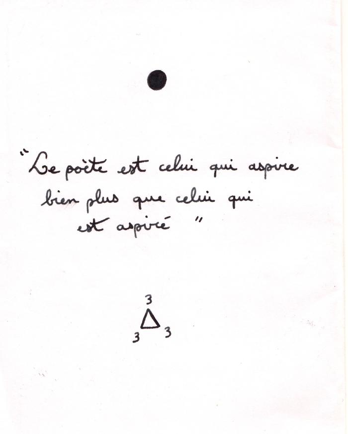 Poet's motto